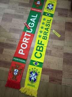 🚚 世界盃,世足賽巴西隊毛巾