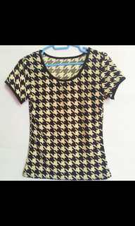🚚 ❗️3 for $10❗️Houndstooth Top