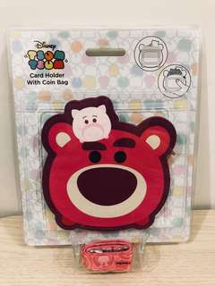迪士尼 勞蘇 證件套 散紙包 Disney Tsum Tsum lotso coins bag