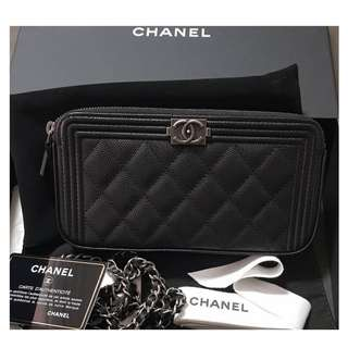 Authentic Chanel Boy WOC
