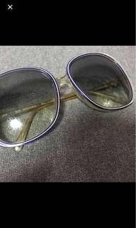 法國名牌Rochas 復古太陽眼鏡