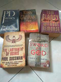 Books $8 for all