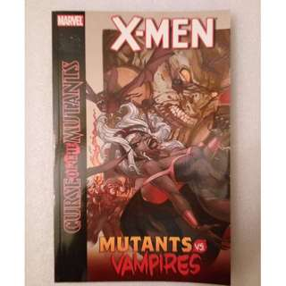 Marvel Comics Curse of the Mutants (mutants vs vampires)