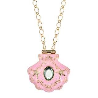 日本 Disney Store 直送 The Little Mermaid 小魚仙貝殼戒指盒頸鍊連戒指套裝