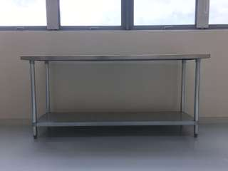 Stainless steel table catering equipment