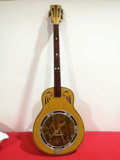 Antique Chinese Instrument- QinQin