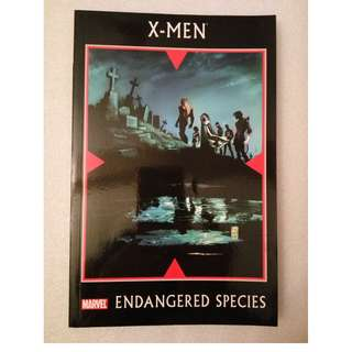 Marvel Comics X-Men Endangered Species