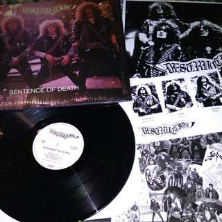 "Destruction ""Sentence of Death"" Reissue Vinyl LP Record"