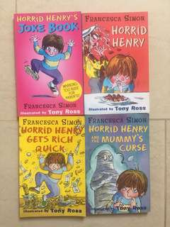 Horrid Henry 4-Bookset