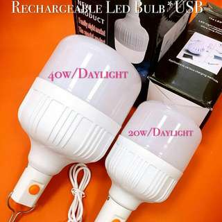 USB Rechargeable LED bulb
