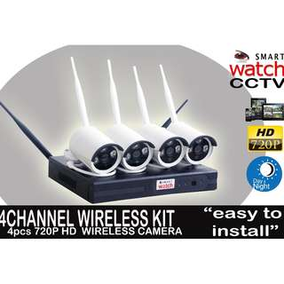 Wireless CCTV package(4Channel NVR KIT)
