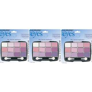 L.A. COLORS 12 COLOR EYESHADOW – DIVA 10035 10038
