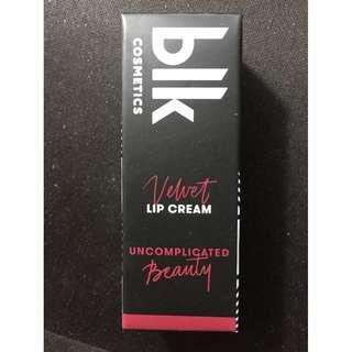 BLK Velvet Lip Cream in ADORABLE