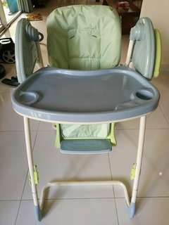Child Swing High Chair With Music