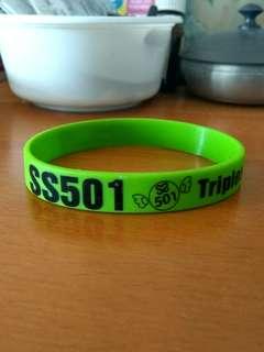 [FREE] SS501 Rubber Bracelet