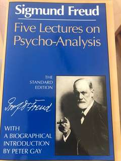 Freud: five lectures on psycho-analysis
