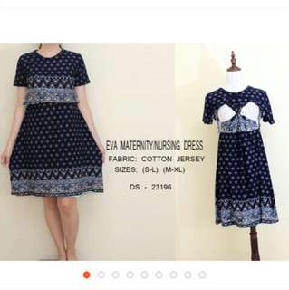 Eva Nursing Dress
