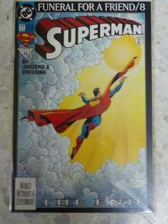 comic SUPERMAN #1-8