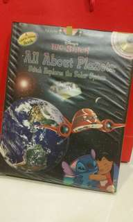 Disney Lilo & Stitch All About Planets