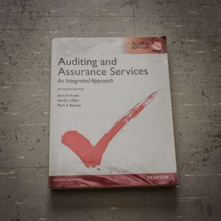 🚚 Auditing and Assurance Service (An Integrated Approach) textbook