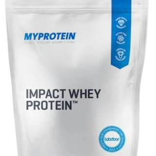 MYPROTEIN IMPACT WHEY (UNFLAVOURED) 5KG BAG RETAIL PRICE OVER 1K - BUILD CLEAN MUSCLE FAST
