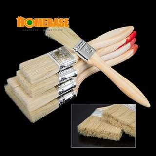 HOMEbase Pure Bristle Paint Brush ( 12 Pcs - 3inch)
