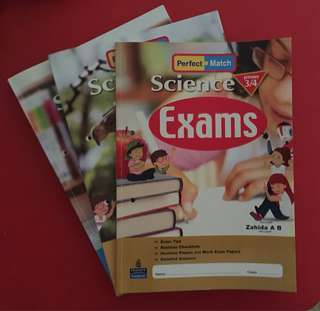 Science Home Practice / Tests / Exams
