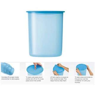 100% Original Tupperware one touch canister 1.25L