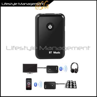 🚚 Audio Bluetooth Stereo Transmitter Receiver TV/Hi-fi Computer/Notebook Wireless Speaker/Headphone