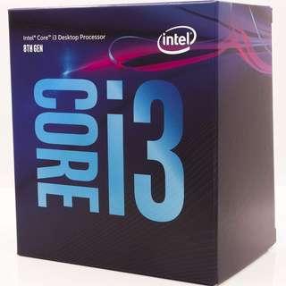 Intel Core i3-8300 Desktop Processor 4 Core 3.7GHz LGA1151 300 Series 62W BX80684i38300