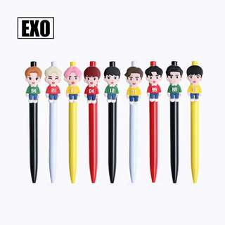 EXO Cute Character Writing Pen