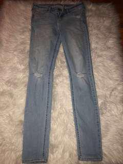 Skinny Blue Hollister Jeans // Size 25