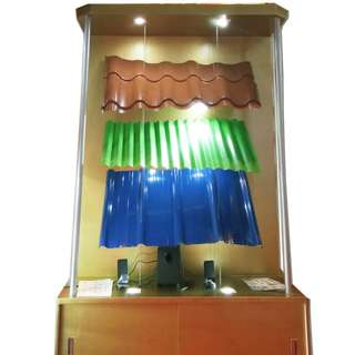 Gold Painted Display Module for Events in Cebu