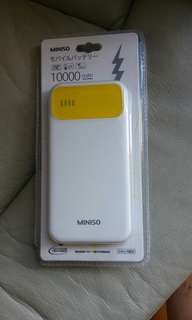 Power Bank.miniso10000mah