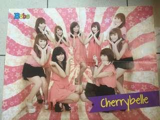 Poster Dinding Tembok Cherrybelle