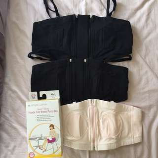 🚚 Simple Wishes hands-free breast pump bra
