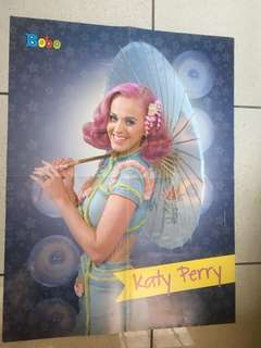 Poster Dinding Tembok Katy Perry