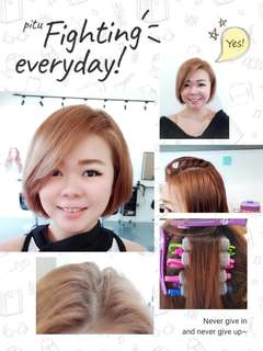 Korea Root & Short C-CURL PERM $128nett