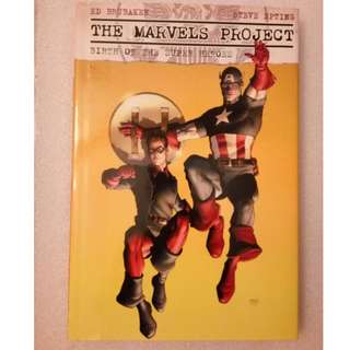 The Marvels Project -Birth of the Superheroes (comics)