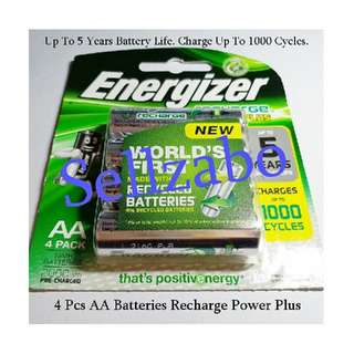 Recharge Energizer Batteries AA Sellzabo Battery