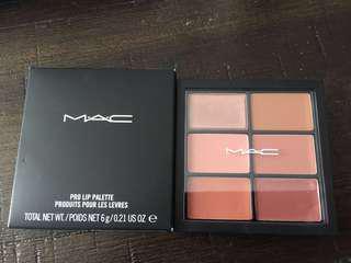 MAC lip palette