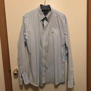 New Mens Medium Tommy Hilfiger Long Sleeve Shirt