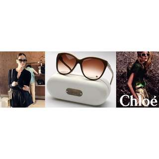 Chloé 小星星⭐️名人愛用款茶色墨鏡