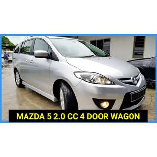2011 Mazda 5 2.0 (A) CBU IMPORT BARU NEW FACELIFT