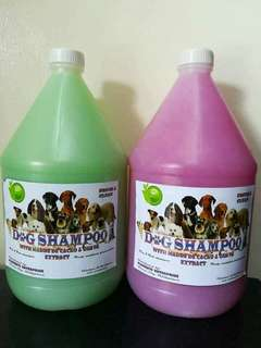 DOG SHAMPOO - Natural Ingredients