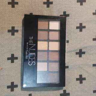 MAYBELLINE EYESAHDOW  PALETTE THE NUDES