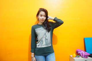 Green Army Long T-Shirt