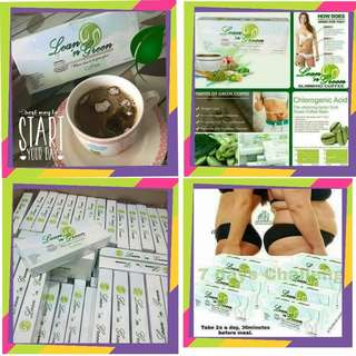 Lean n green slimming coffee