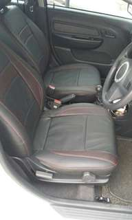 Oem proton saga blm/fl/flx leather seat cover