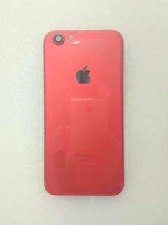 Casing housing backdoor iphone 6 model iphone 7 red editio